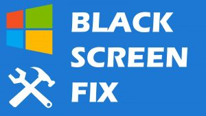 cara mengatasi blackscreen di windows