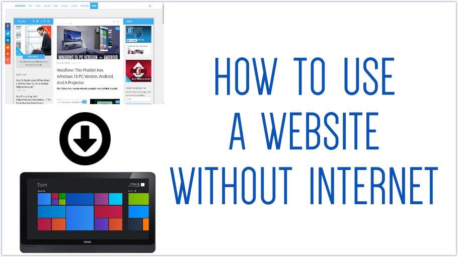 Cara Menggunakan Website tanpa Internet