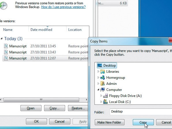 Cara Recovery File yang telah Dihapus