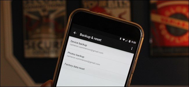 Mengenal Sistem Backup Data di Android Secara Otomatis