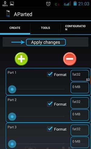Cara Mudah Partisi SD Card di Android dengan AParted