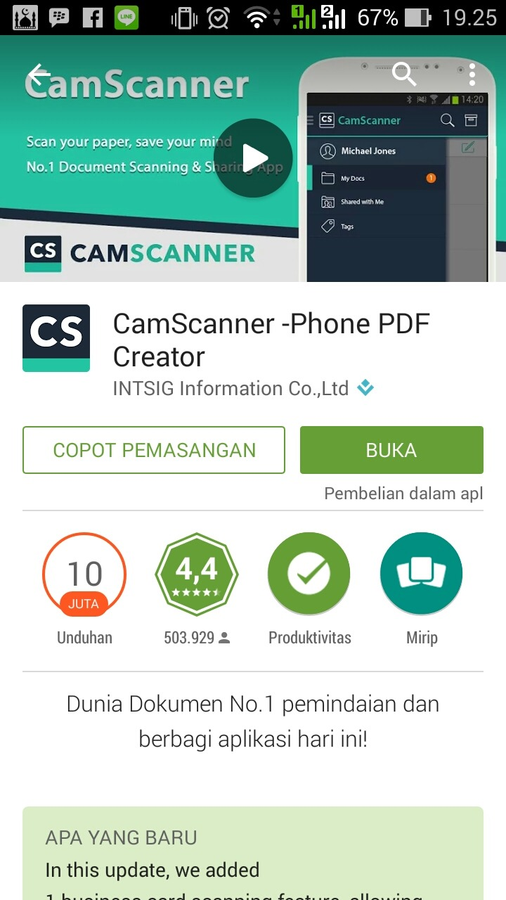 Cara Mudah Scan Dokumen di Smartphone Android