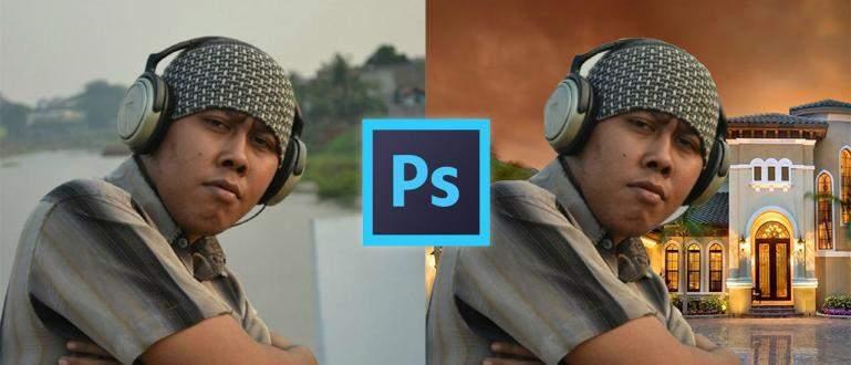 Cara Ganti Background Foto dengan aplikasi Photoshop