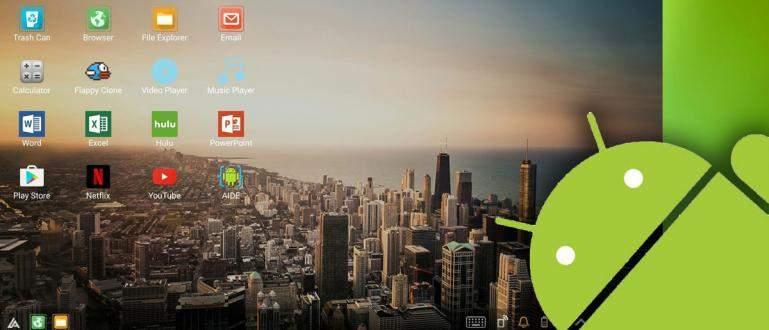 Cara Mengubah Tampilan Android Jadi Seperti Komputer