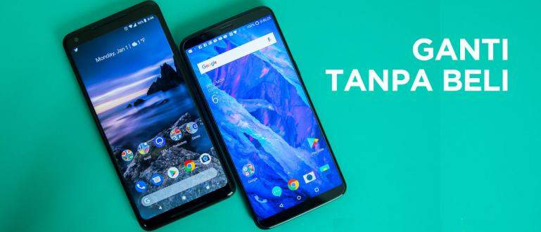 Cara Ganti HP Android dengan Aplikasi