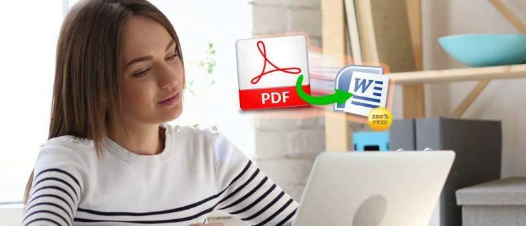 Cara Cepat Convert File PDF ke Word