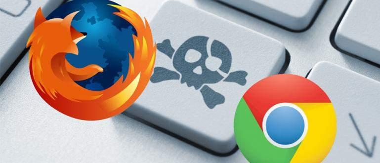 Cara Menghapus History Browser Chrome dan Firefox
