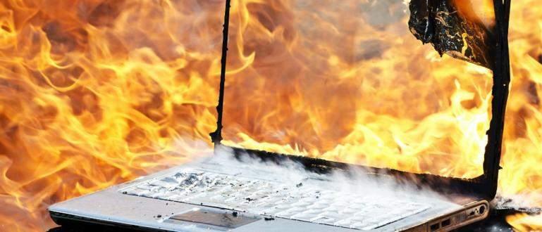 Cara atasi laptop yang panas. - Cara Mengatasi Laptop yang Cepat Panas