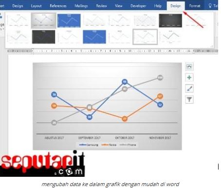 Cara Mudah Membuat Grafik Di Word Dengan Cepat Warung Komputer