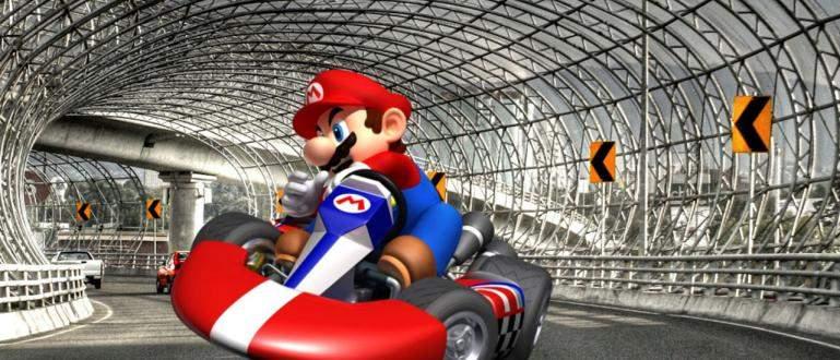 Cara Bermain Mario Kart di Google Maps