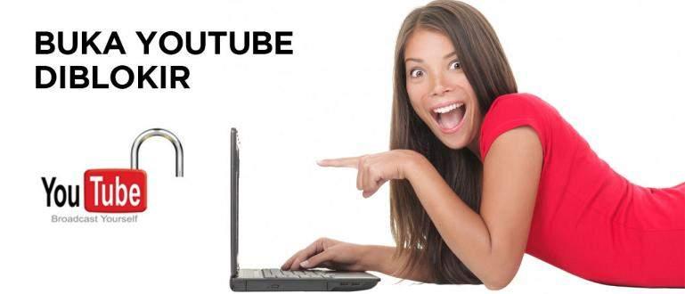 cara membuka youtube yang dblokir 42697 - Cara Mudah Membuka Video YouTube yang Diblokir