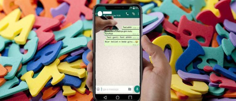 Cara Ubah Huruf di WhatsApp