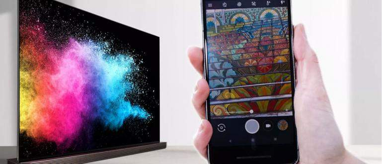 Cara Menyambungkan HP Android ke TV