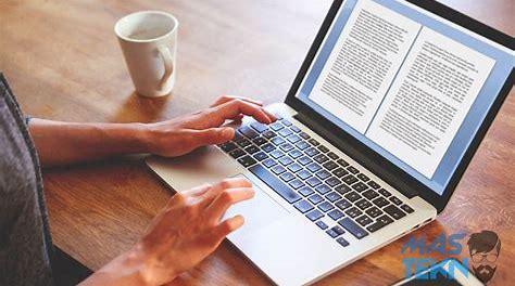 Cara Mudah Merapikan Tulisan di Microsoft Word