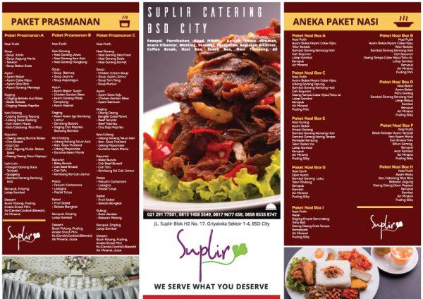 Brosur Catering Suplir