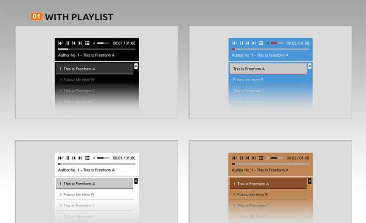 HTML5 Audio Player - Menambahkan Audio Dan Video di WordPress Dengan Plugin Ini