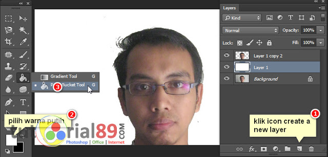 Membuat Efek Foto Double Exposure Di Photoshop
