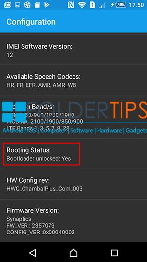 Relock Bootloader Sony Xperia Semua Tipe via Flashtool