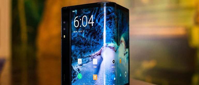 Mendahului Samsung, Royole Merilis Smartphone Lipat