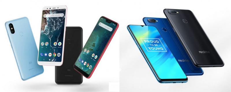 Xiaomi Mi A2 atau Realme 2 Pro?