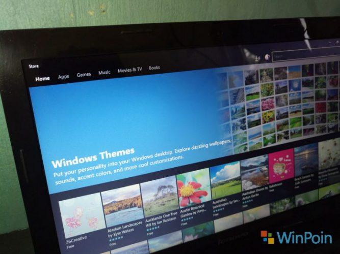 Microsoft Rilis 4 Tema terbaru