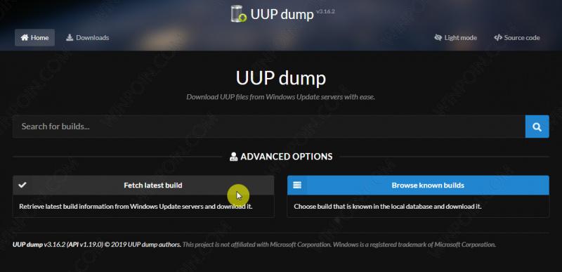 UUPDump – Download dan Buat ISO Windows 10 Lebih Mudah 1 - Download dan Buat ISO Windows 10 Lebih Mudah