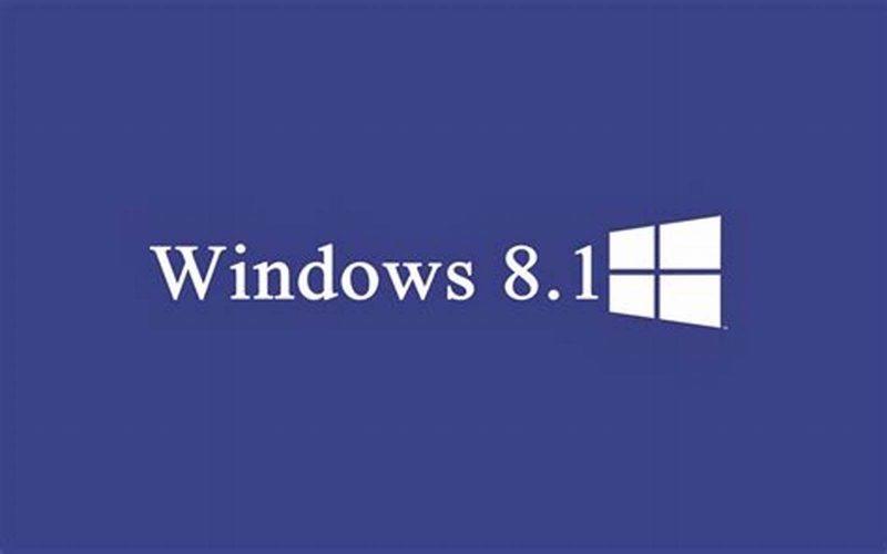 Layakkah Menggunakan Windows 8.1 Tahun 2019