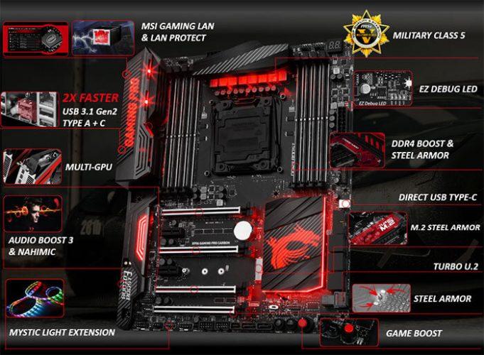 MSI Rilis Motherboard X99