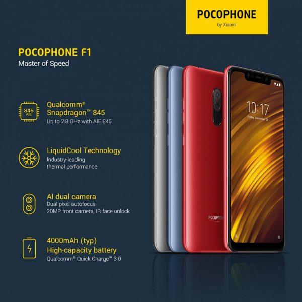 Ponsel Xiaomi Poco F1