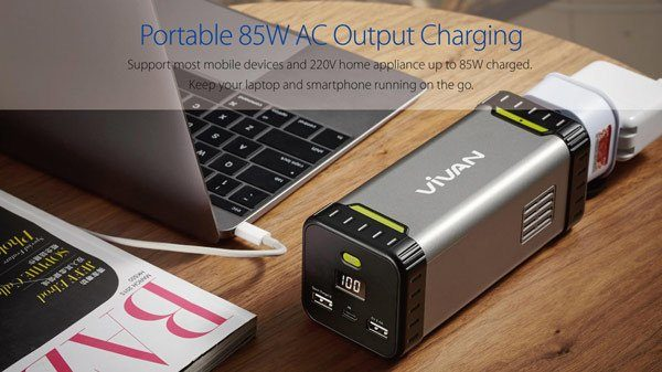 Powerbank Vivan MF20 20800mAh