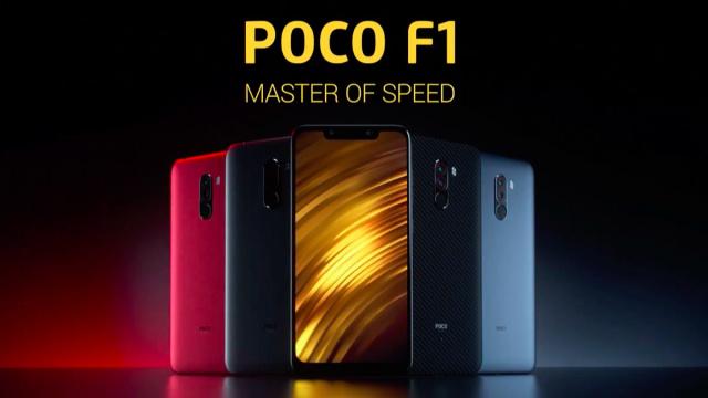 Ponsel Xiaomi Poco F1 Snapdragon 845 Harga Yang Termurah
