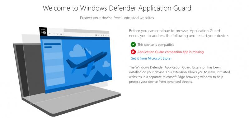 Perilisan Extensi Windows Defender