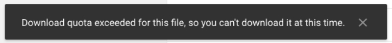 Tips Mengatasi Batasan Download di Google Drive