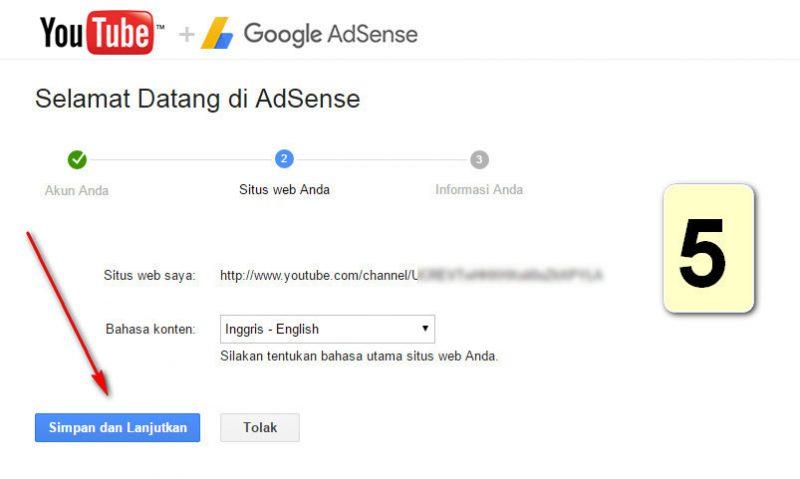 Cara Gampang Membuat Adsense Lewat youtube