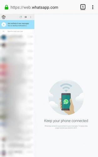 Menyadap Whatsapp Tanpa Aplikasi, Menggunakan Browser di Hape