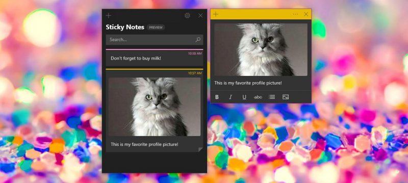 Fitur Baru Sticky Notes untuk Insider Dari Microsoft