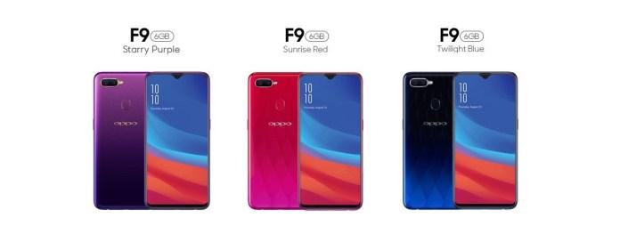 Kelebihan Oppo F9 Smartphone Dengan Design Elegan