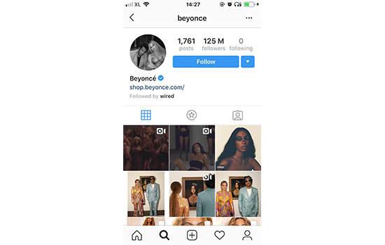 beberapa akun instagram terbanyak