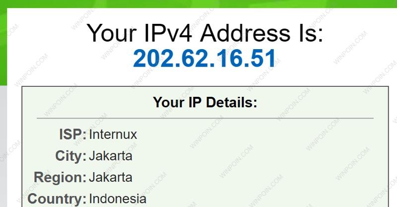 Tutorial Setting Proxy Server
