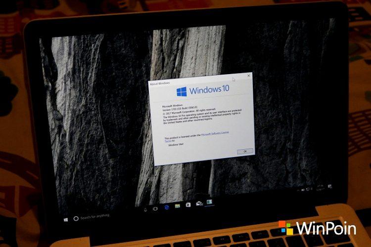 Membuat Reset Recovery Image di Windows 10