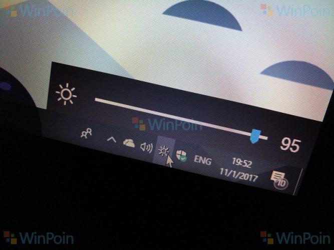 Tips Menambahkan Brightness Slider di Windows 10