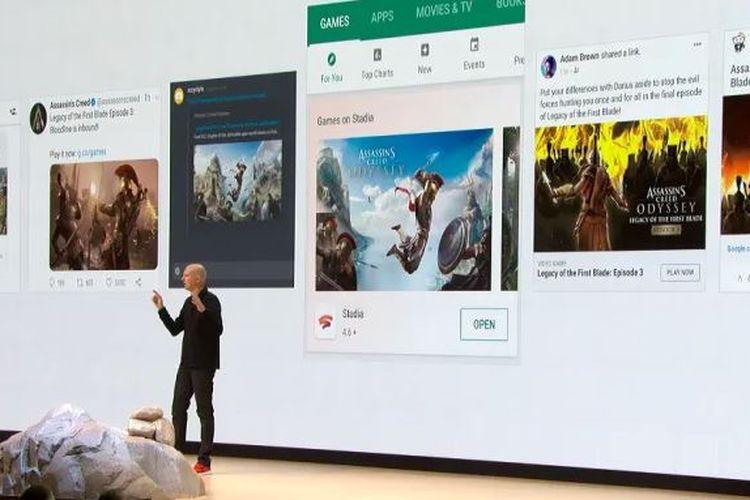 Penjelasan tentang Google Stadia