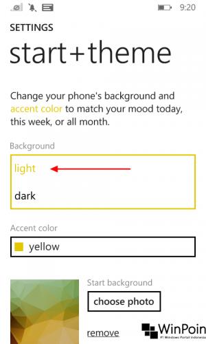 Tips Ganti Tema Windows Phone