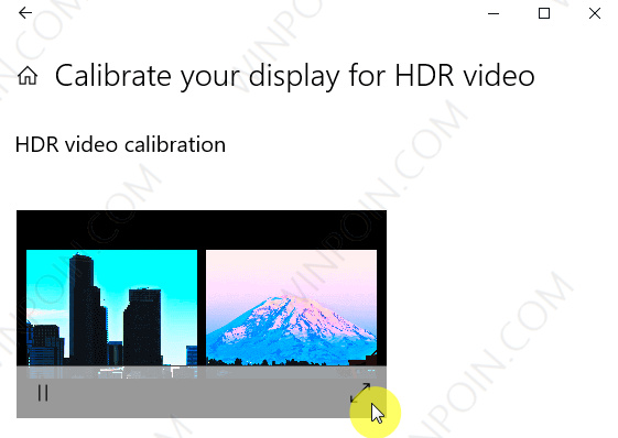 Cara Kalibrasi Tampilan Video HDR Windows 10