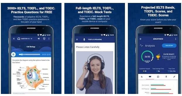 Aplikasi untuk Belajar TOEFL