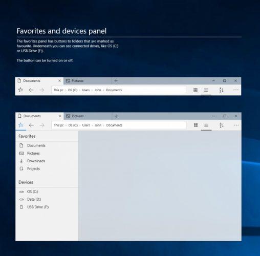 Konsep Desain File Explorer