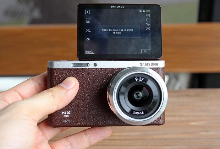 nx mini kamera mirorrles