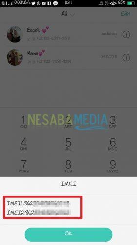 Tutorial Cek IMEI Smartphone