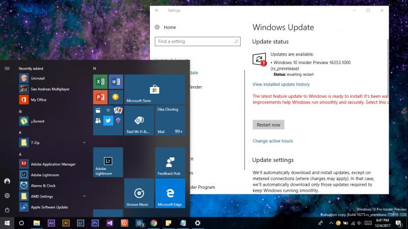 Cara Menghapus Windows Update