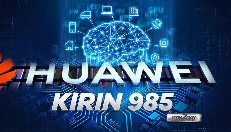 chipset huawei kirin 985